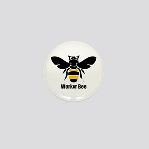 Worker Bee Mini Button