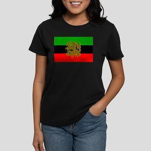 Marcus Garvey Lion of Judah Women's Dark T-Shirt