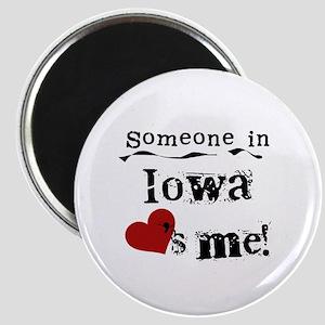 Someone in Iowa Magnet