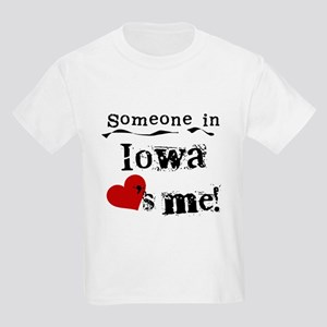 Someone in Iowa Kids Light T-Shirt