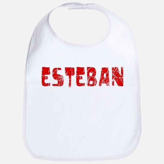 Esteban Faded (Red) Bib