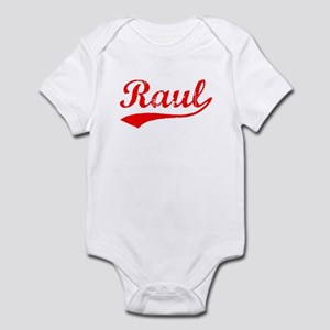 Vintage Raul (Red) Infant Bodysuit