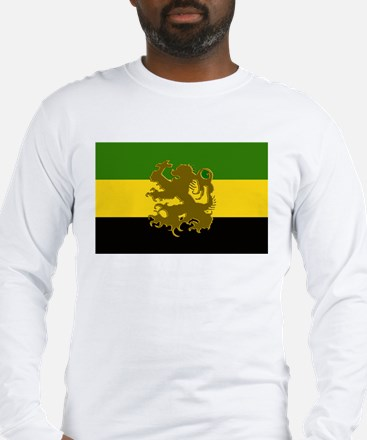 Jamaican Lion Long Sleeve T-Shirt