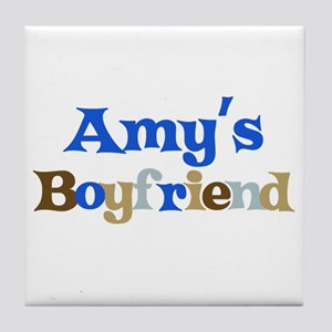 Amy's Boyfriend Tile Coaster