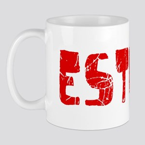 Esther Faded (Red) Mug