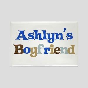 Ashlyn's Boyfriend Rectangle Magnet