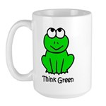 Think Green Large Mug
