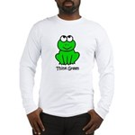Think Green Long Sleeve T-Shirt