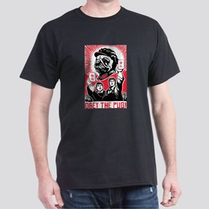 Follow Chairman Pug! 2-sided T-Shirt