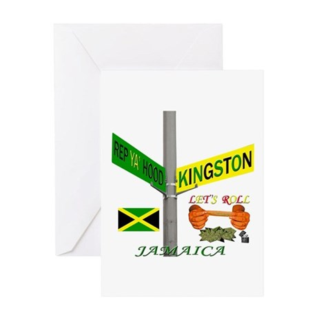 REP KINSTON LETS ROLL Greeting Card