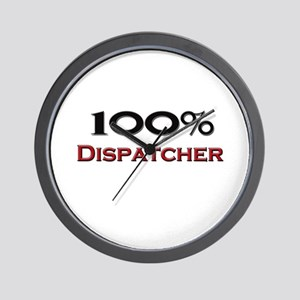 100 Percent Dispatcher Wall Clock