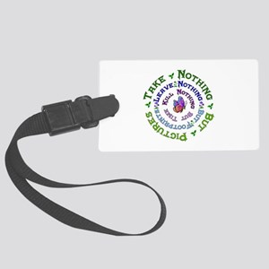 Earth Conservation Large Luggage Tag