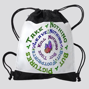 Earth Conservation Drawstring Bag