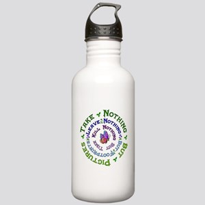 Earth Conservation Stainless Water Bottle 1.0L