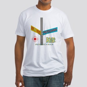 REP PISTOLVANIA Fitted T-Shirt