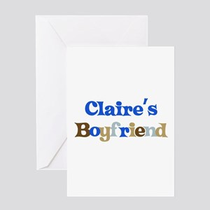 Claire's Boyfriend Greeting Card