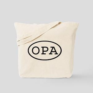 OPA Oval Tote Bag