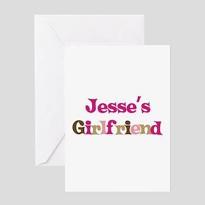 Jesse's Girlfriend Greeting Card