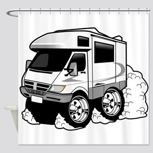 Rving 4 Shower Curtain