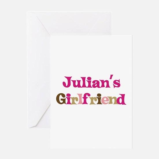 Julian's Girlfriend Greeting Card