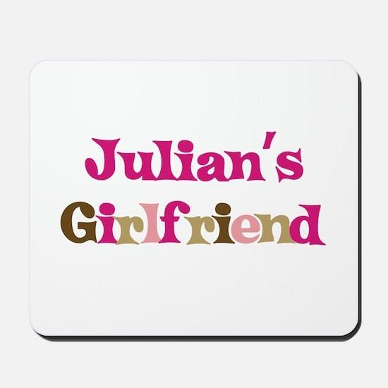 Julian's Girlfriend Mousepad