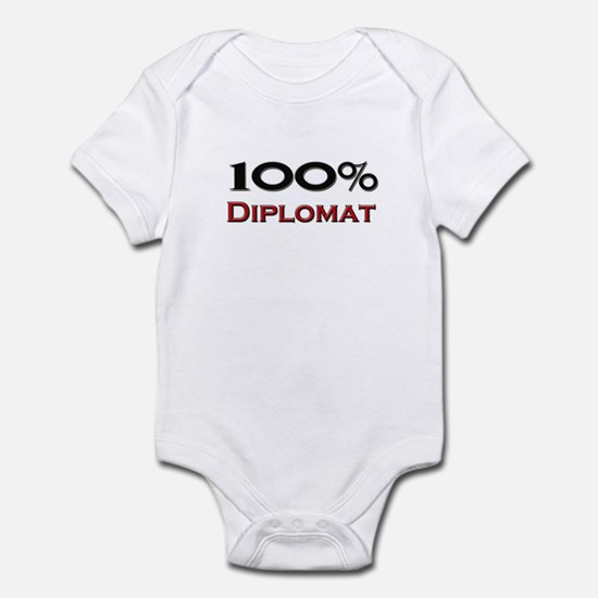 100 Percent Diplomatologist Infant Bodysuit