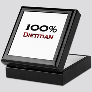 100 Percent Dietitian Keepsake Box