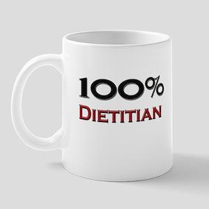 100 Percent Dietitian Mug