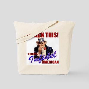 Hijack THIS! Angry American Tote Bag