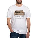 short walk #1 Fitted T-Shirt