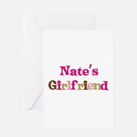 Nate's Girlfriend Greeting Card