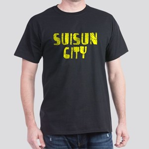 Suisun City Faded (Gold) Dark T-Shirt