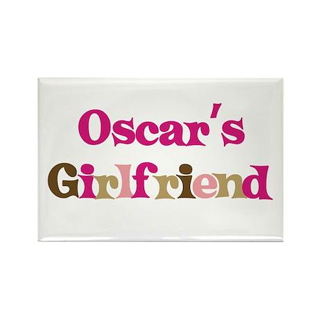 Oscar's Girlfriend Rectangle Magnet