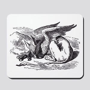 Sleeping Gryphon Mousepad