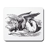 Alice gryphon Classic Mousepad