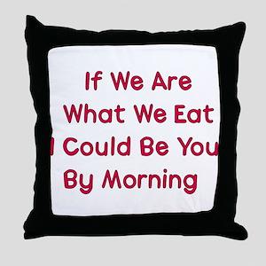 Eat You Throw Pillow