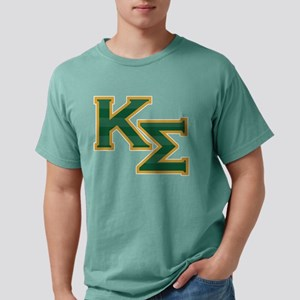 Kappa Sigma Letters Mens Comfort Colors Shirt
