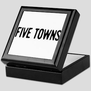 """Five Towns"" Keepsake Box"