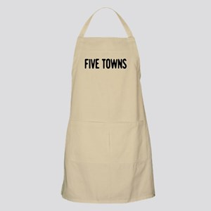 """Five Towns"" BBQ Apron"