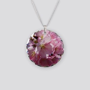 Pink Cherry Blossoms Necklace