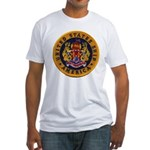 USS AMERICA Fitted T-Shirt
