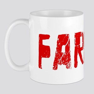 Farmer Faded (Red) Mug