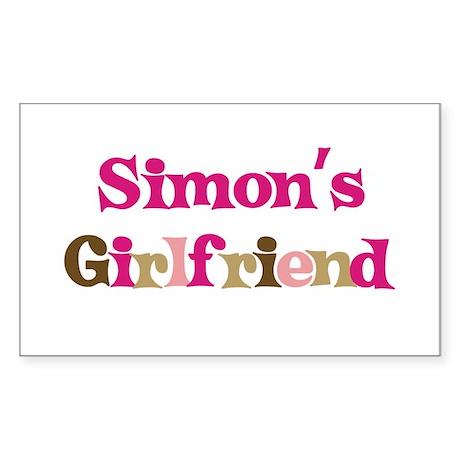 Simon's Girlfriend Rectangle Sticker