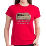 short walk #1 Women's Dark T-Shirt