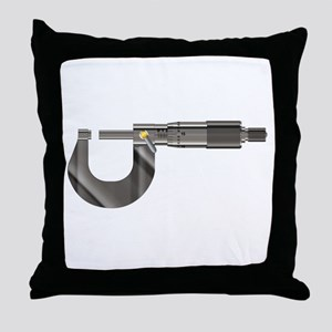 Precision Instrument Micrometer Throw Pillow
