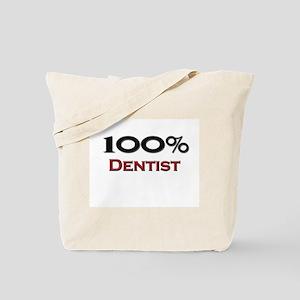 100 Percent Dentist Tote Bag