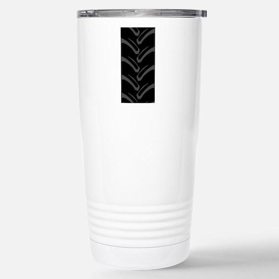4x4 Tread Pattern Stainless Steel Travel Mug