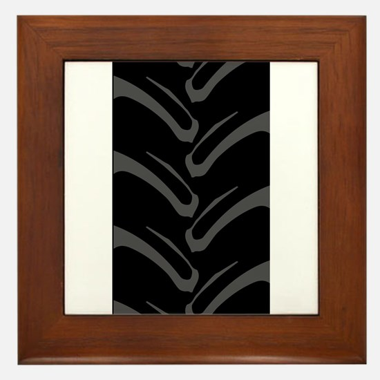 4x4 Tread Pattern Framed Tile