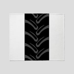 4x4 Tread Pattern Throw Blanket