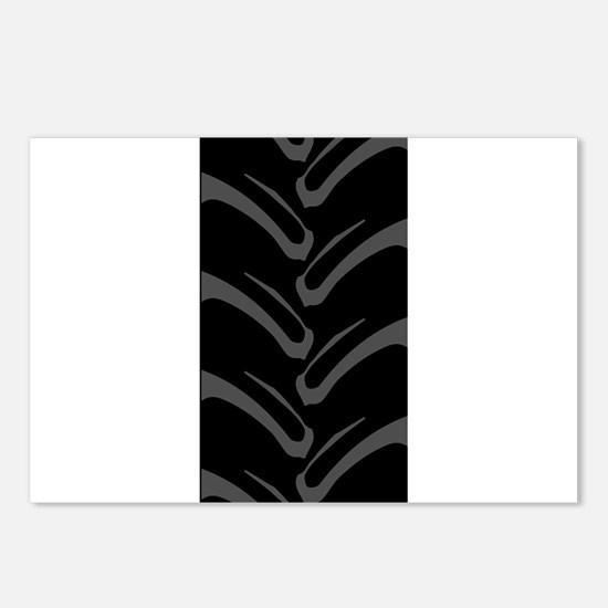 4x4 Tread Pattern Postcards (Package of 8)
